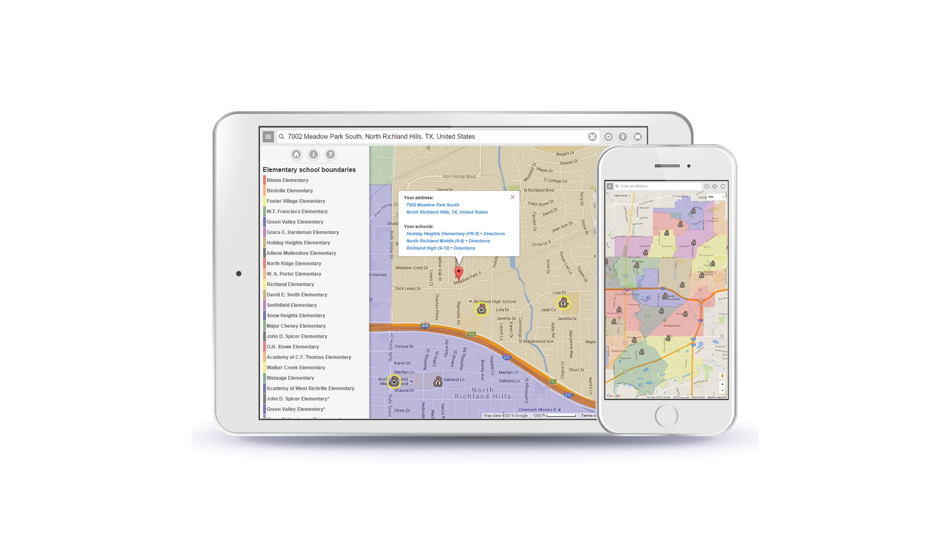 School Maps Online Mapping Excellence